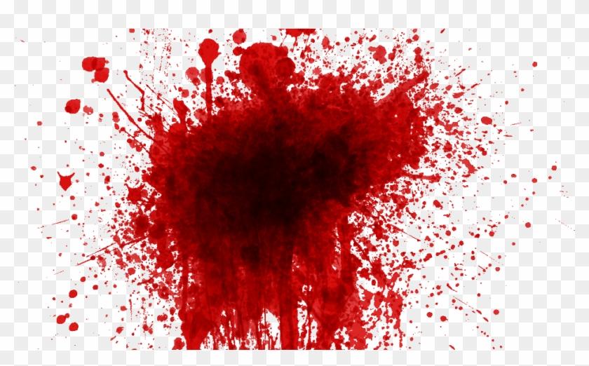 Blood Splatter Black Background Png.