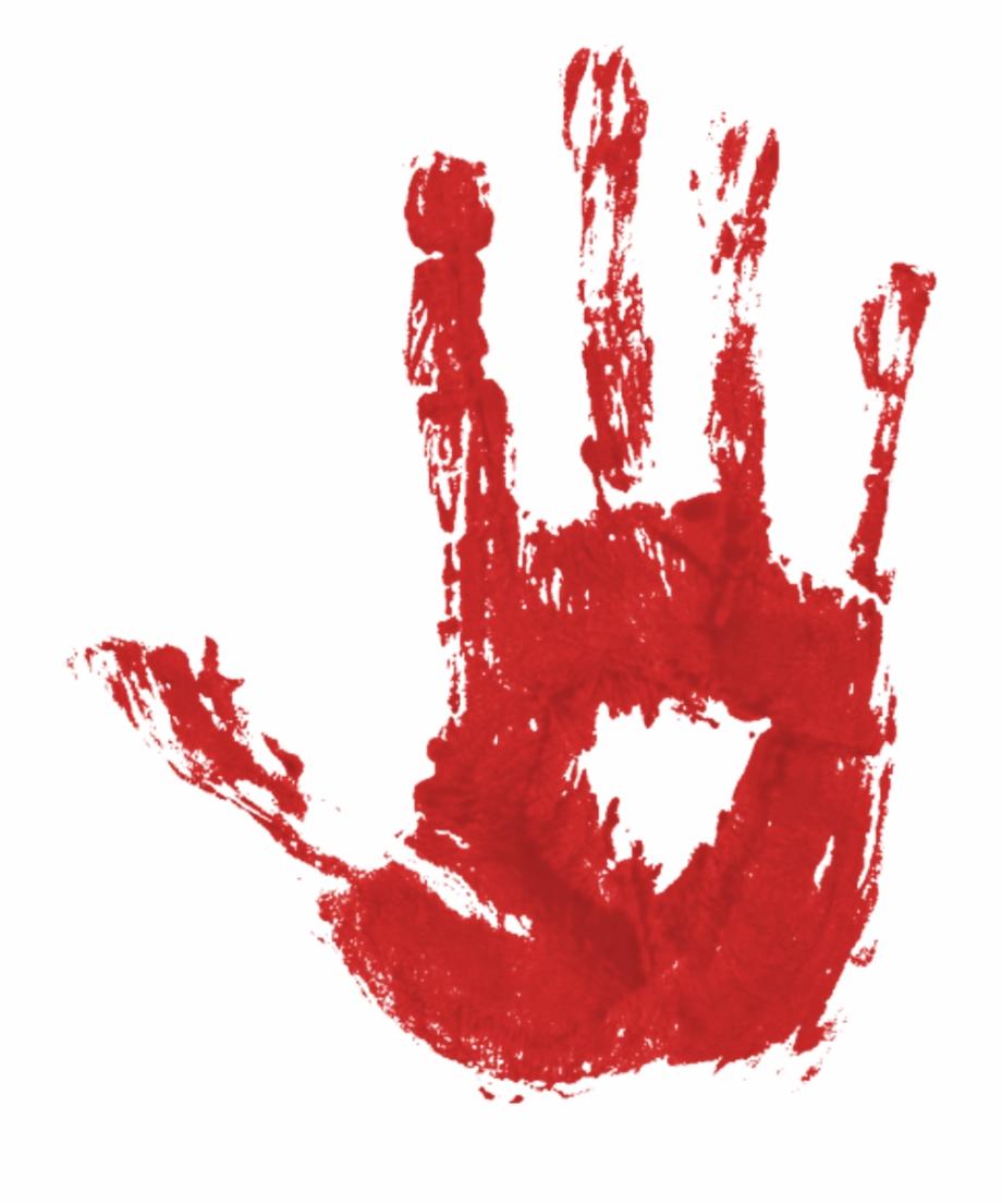 Blood Hand Print Pgntree.
