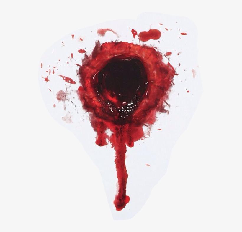 Gunshot Blood Horror Gun.
