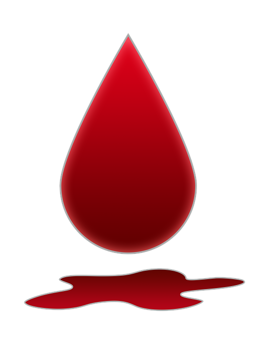 Blood Bloodstain A Pool Of.