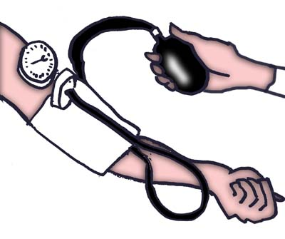 Low Blood Pressure Reading Clip Art.