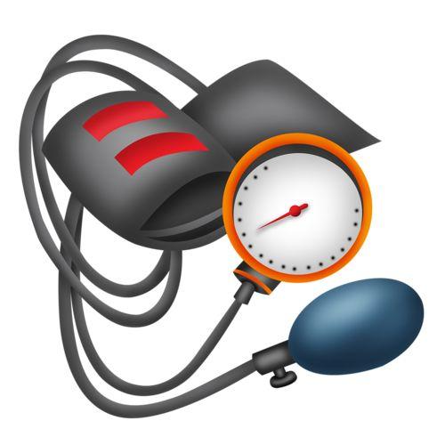 Nurse blood pressure clipart.
