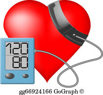 Blood Pressure Cuff Clip Art.