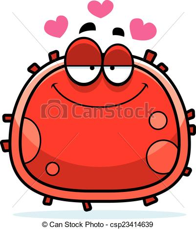 Vectors of Red Blood Cell Love.