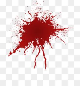 Blood Splatter PNG.