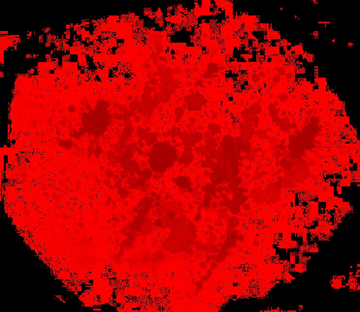 Blood Splatter transparent PNG.