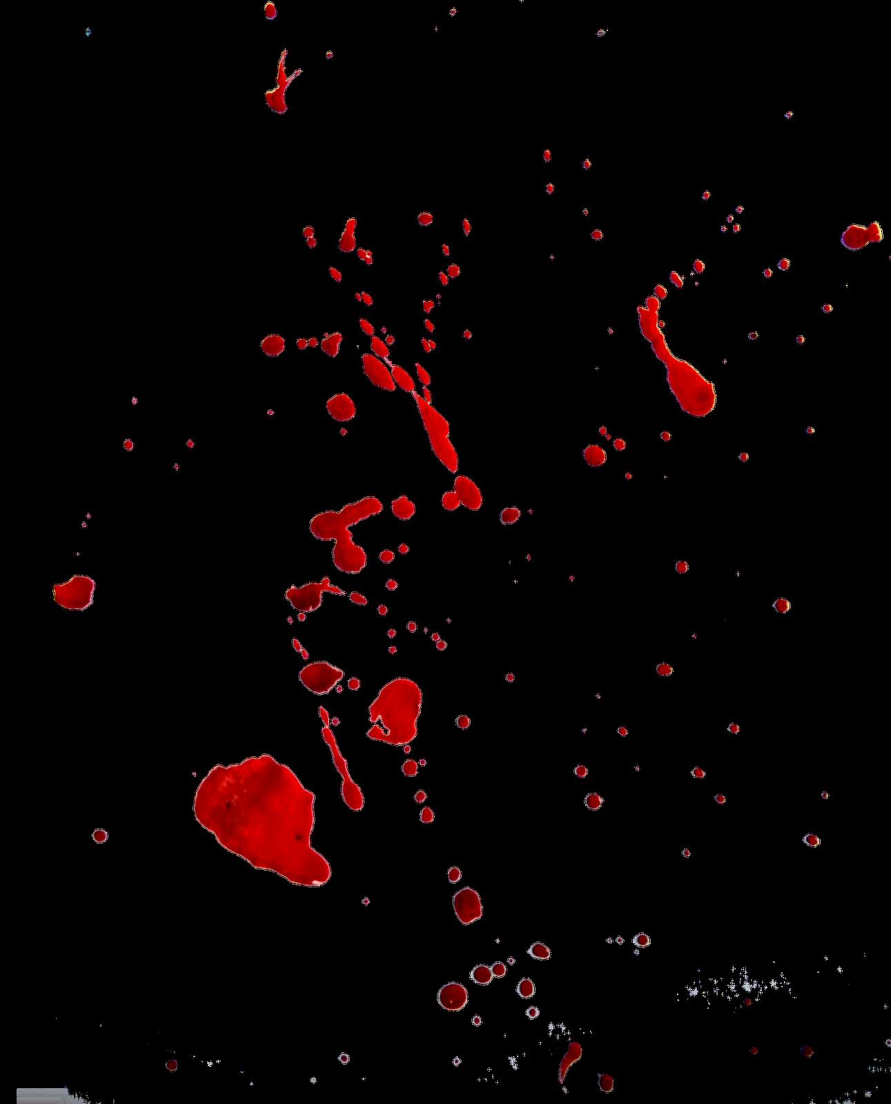 Blood Splatter Transparent PNG Pictures.