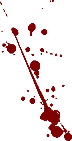 Blood Splatter Clip Art at Clker.com.