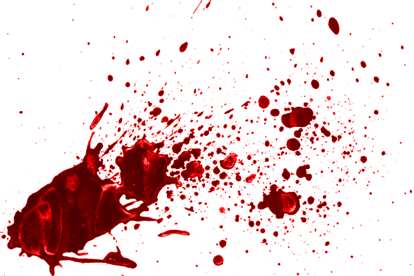 Make Up Tips: Blood Splatter and Stabbing your Friends!.