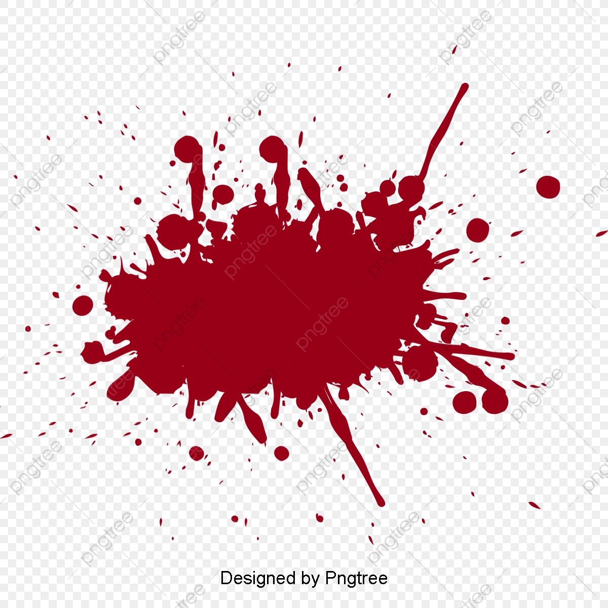 Crime Scene Blood, Vector Material, Blood, Bloodstained PNG.