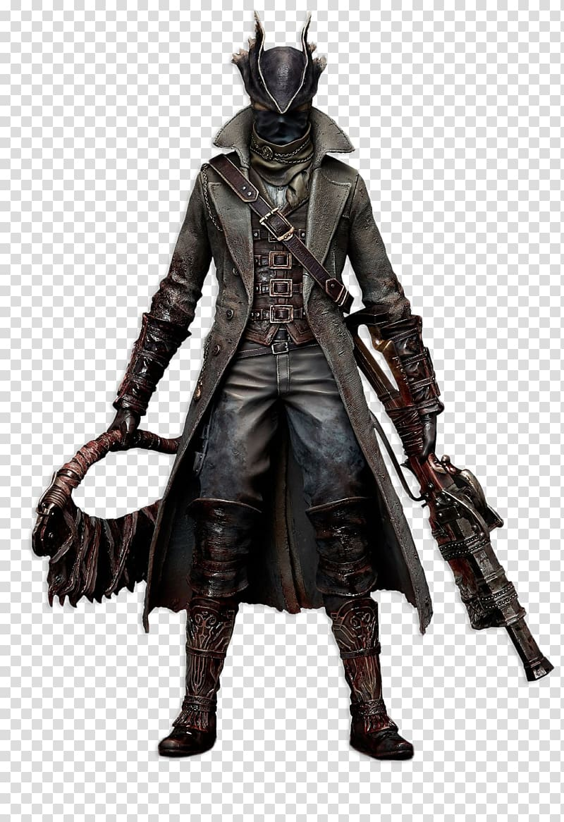 Bloodborne The Hunter PlayStation 4 1:6 scale modeling.