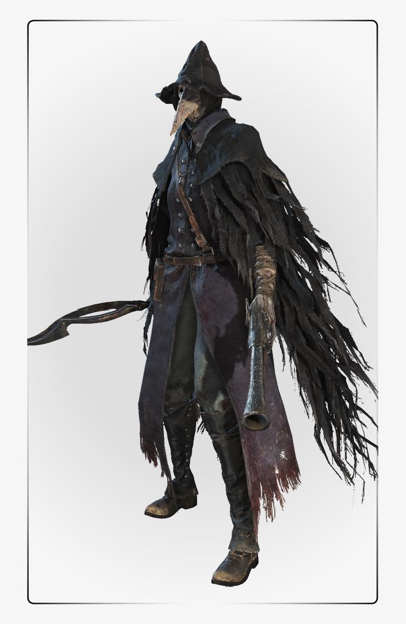 Bloodborne Raven Hunter.