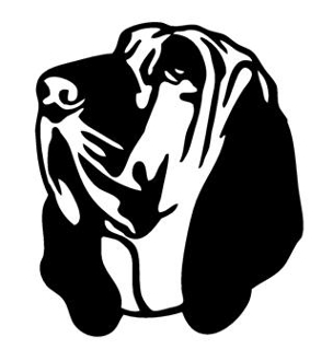 Bloodhound Silhouette at GetDrawings.com.