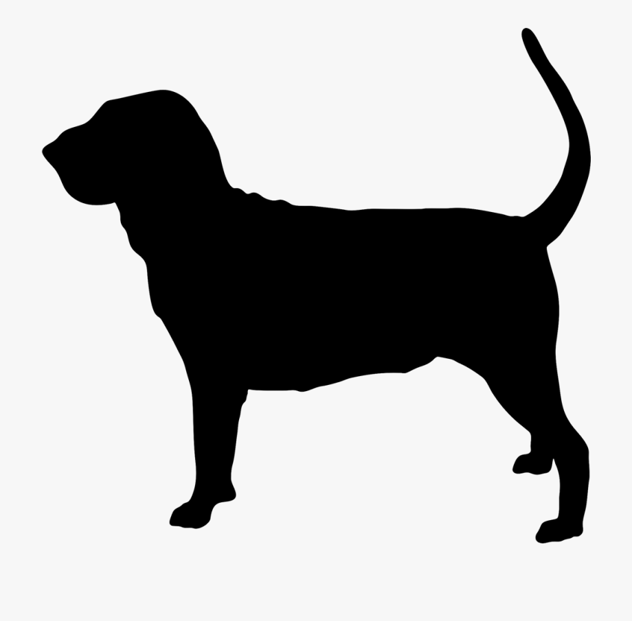 Bloodhound Silhouette.