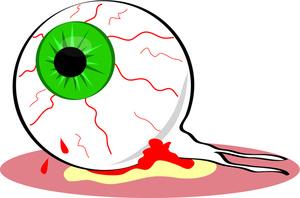 Bloodshot Eyeball Clipart.