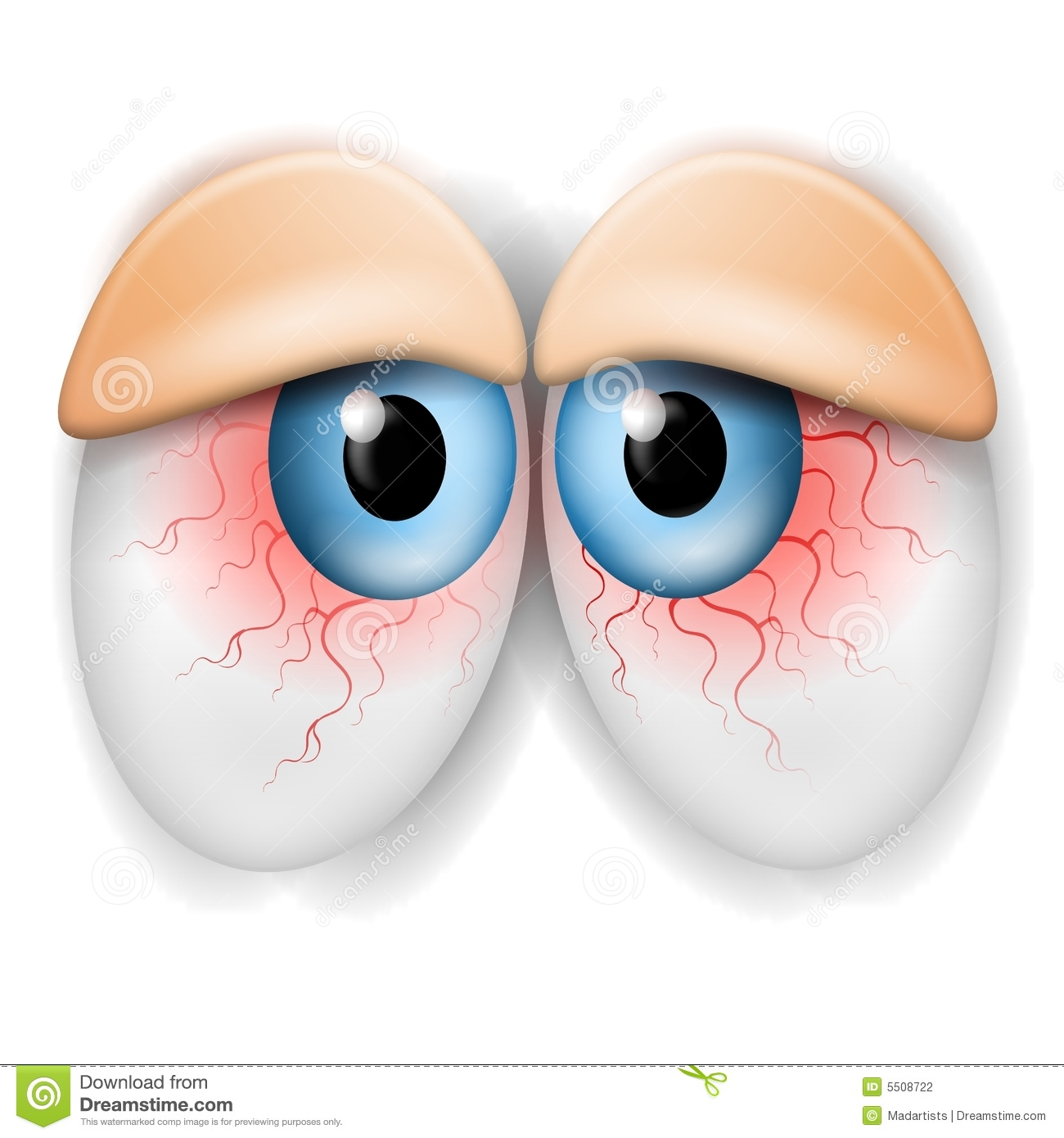 Bloodshot Eyes Clipart.