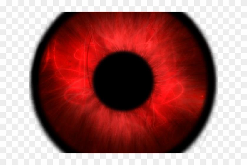 Creepy Clipart Bloodshot Eye.