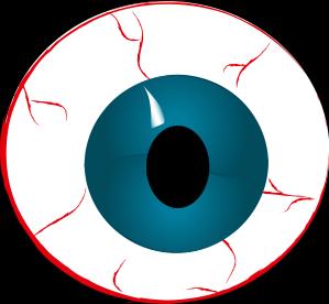 Bloodshot eyeball clipart free images 2.