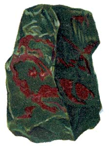 Gems and Minerals : bloodstone : Classroom Clipart.