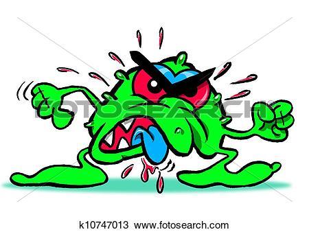 Drawing of Blood Sucking Bug k10747013.