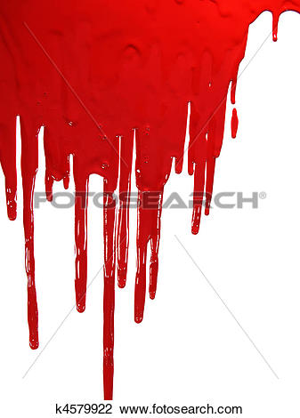 Clip Art of Bloody k4579922.