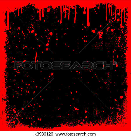 Clip Art of Bloody background k3936126.