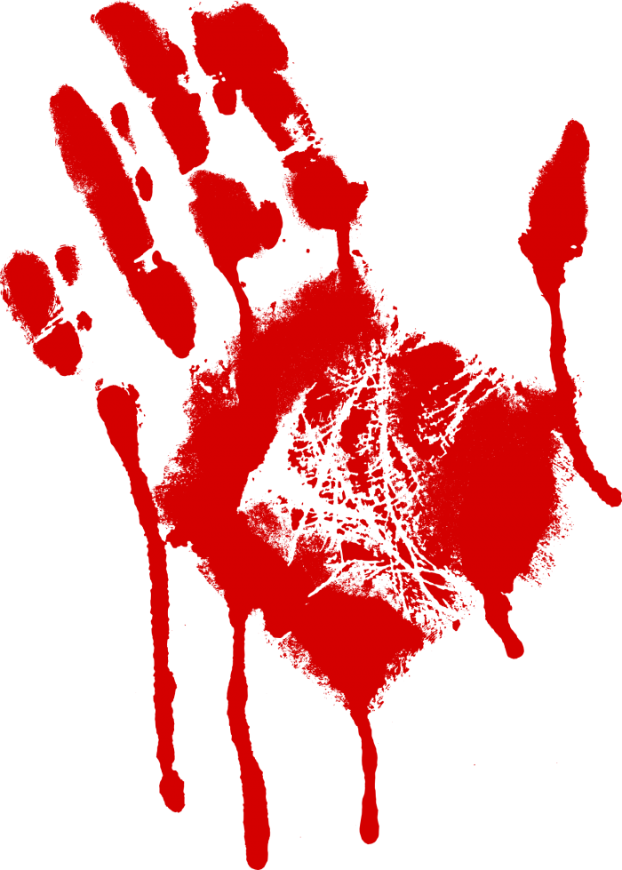 Bloody Hand Png Vector, Clipart, PSD.
