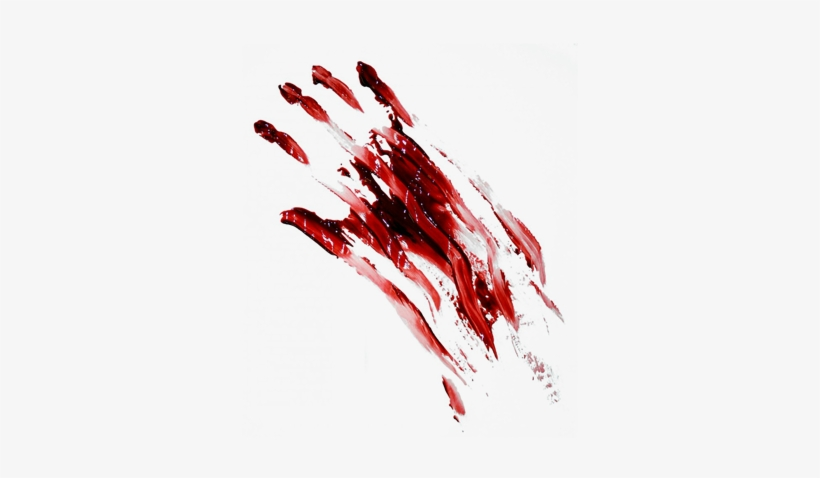 Bloody Handprint Png.