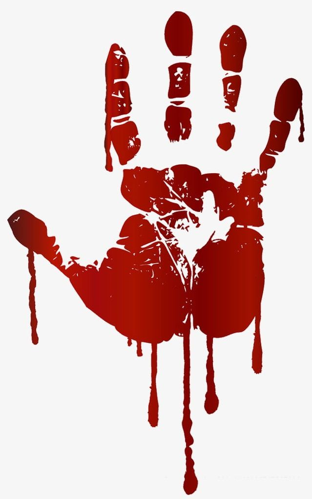 Bloody Handprints PNG, Clipart, Bloody, Bloody Clipart, Bloody.