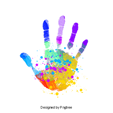 Handprints Png, Vector, PSD, and Clipart With Transparent Background.