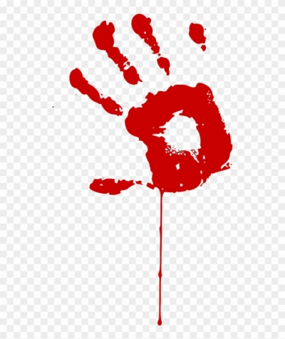 bloody hands , Free png download.