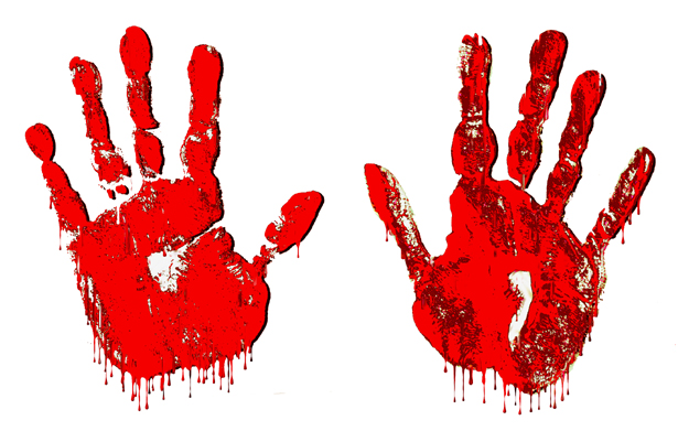 Free Bloody Hand Png, Download Free Clip Art, Free Clip Art.