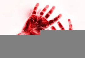 Christian Clipart Bloody Hand.