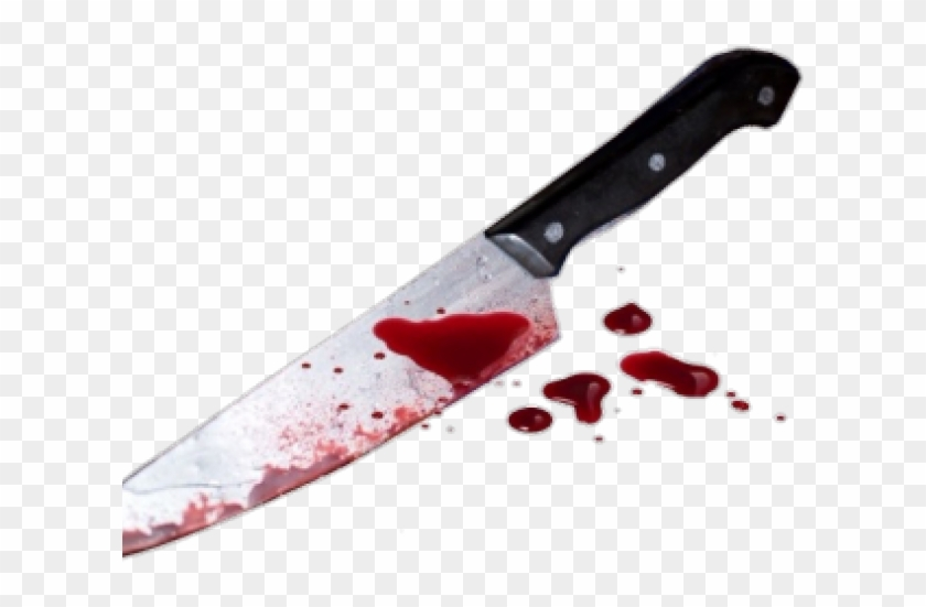 Transparent Background Bloody Knife Png, Png Download.