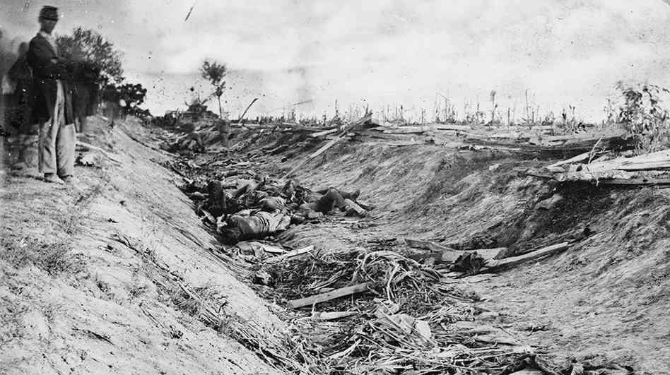 Battle of Antietam by Robert Green.