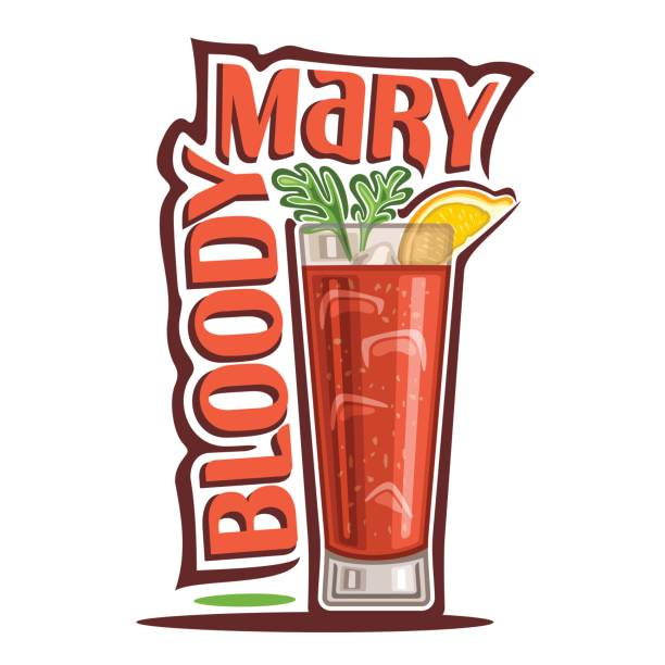 Best Bloody Mary Illustrations, Royalty.