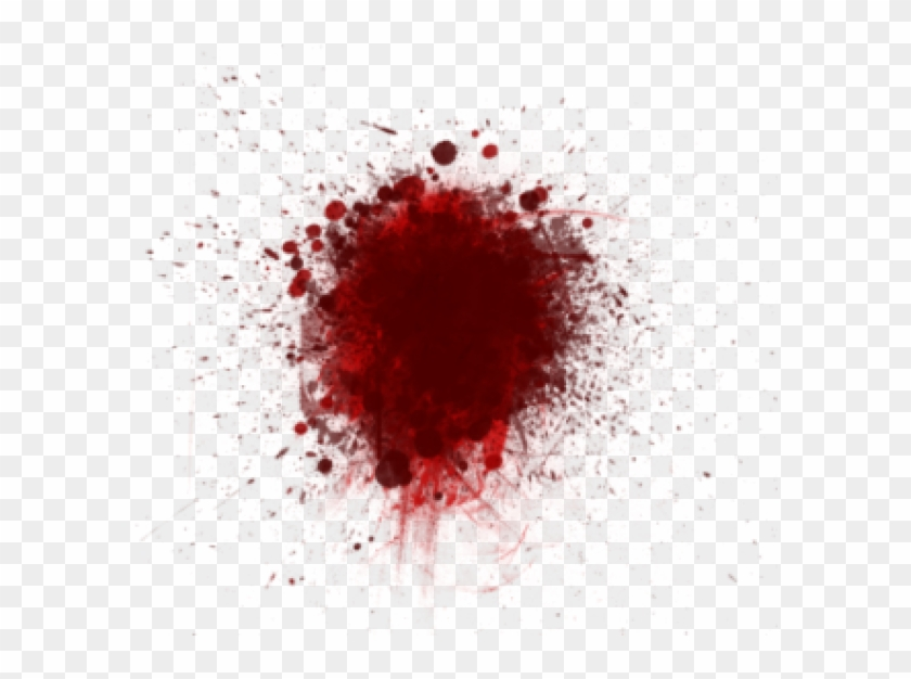 Spoted Sparyed Blood Free Png Download.