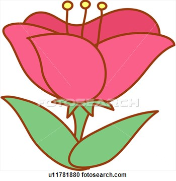 Bloom flower clipart.