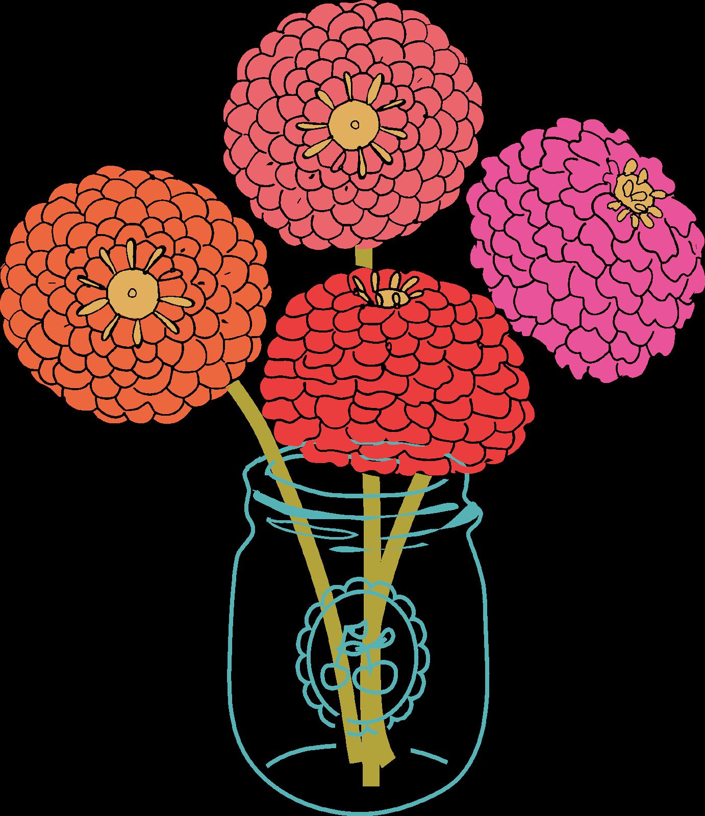 Flower Bloom Clip Art.