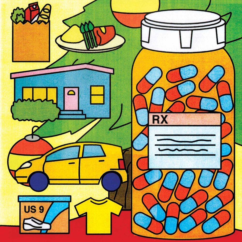 As Spending on Basics Falls, Health Care Takes Up the Slack.