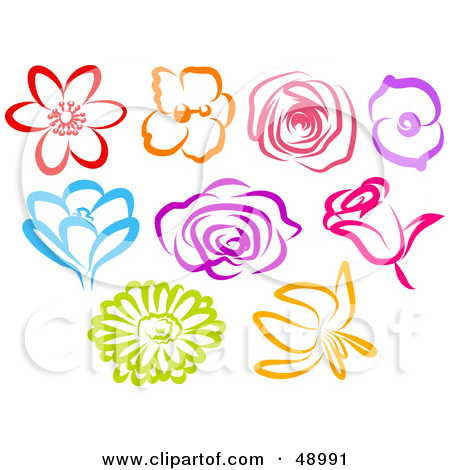 Royalty Free Stock Illustrations of Flowers by Prawny Page 3.