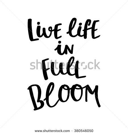 Bloomed Stock Vectors & Vector Clip Art.