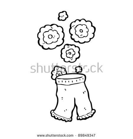 Gallery For > Women's Bloomers Clipart.