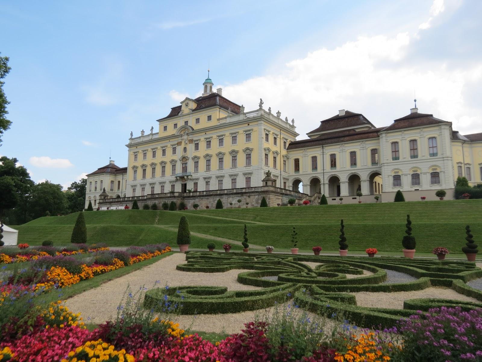carrotspeak: Schloss Ludwigsburg Part 1: The Palace.