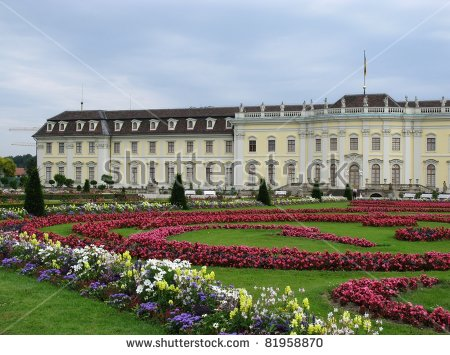 The Baroque Gardens Of Ludwigsburg Palace Baden Wuertemberg In.