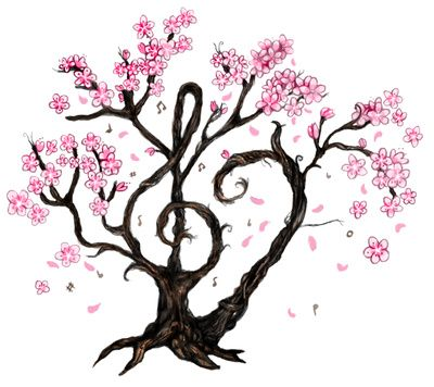 1000+ images about Cherry blossom vector clipart png. on Pinterest.