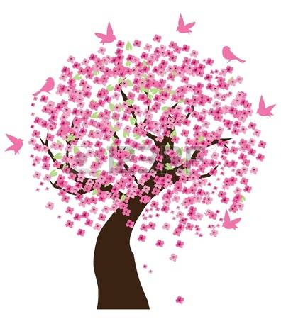 7,872 Sakura Tree Stock Vector Illustration And Royalty Free.
