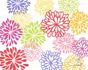 Blooming Flowers Clipart 12 Blooming Flower Clip Art Graphics.