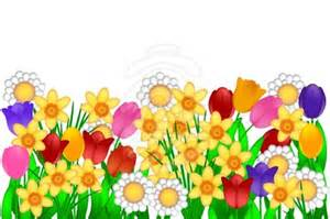Clipart computer blooming.