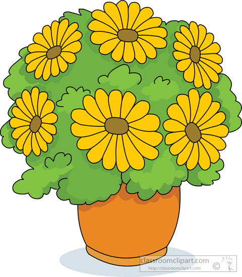 Flowering plants clipart - Clipground